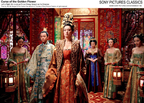 Curse of the golden flower movie review courtesy of sony pictures entertainment mightylinksfo